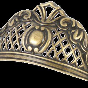 Castella Heritage Opera 64mm Antique Brass Cup Pull