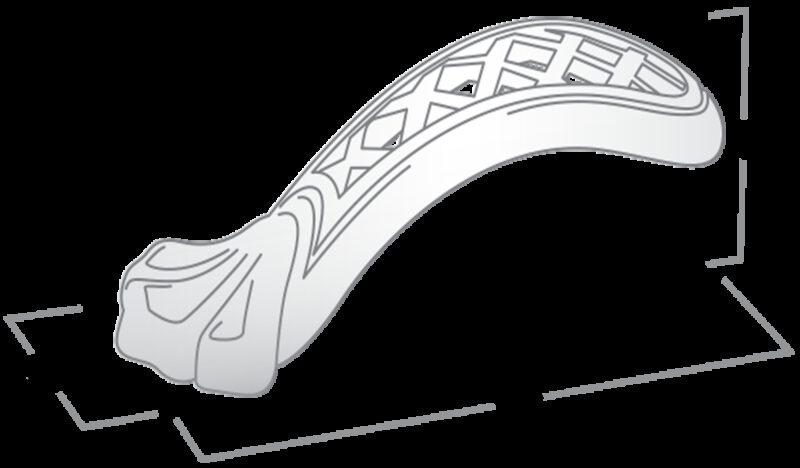 Castella Heritage Opera 70mm Pewter Knob Pull
