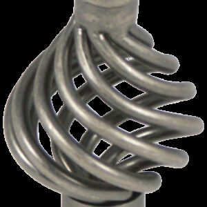 2055 Castella Heritage French Provincial Pewter 34mm Wire Knob