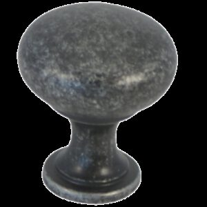Castella Heritage Shaker Antique Black 30mm Round Knob