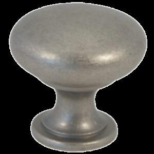 Castella Heritage Shaker Pewter 30mm Round Knob