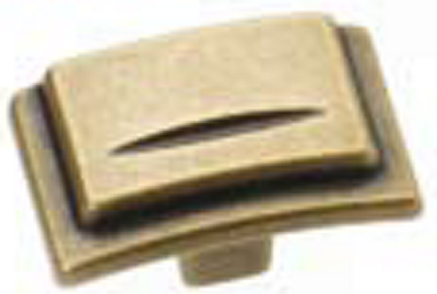 Castella Artisan Chisel 38mm Antique Brass Knob