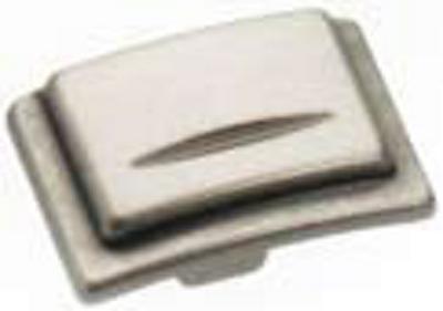 Castella Artisan Chisel 38mm Pewter Knob