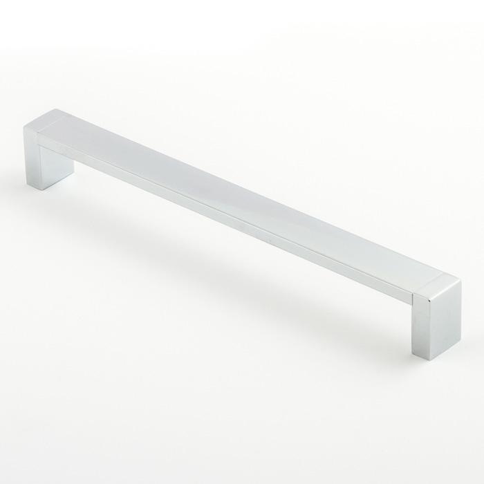 Castella Linear Mezzanine Insert Square Polished Chrome 224mm D Pull Handle
