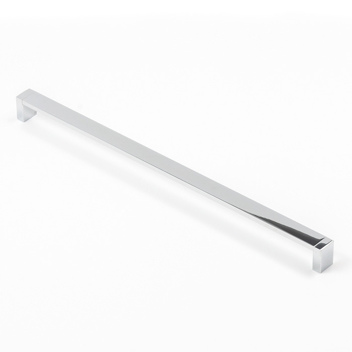 Castella Linear Mezzanine Insert Square Polished Chrome 416mm D Pull Handle