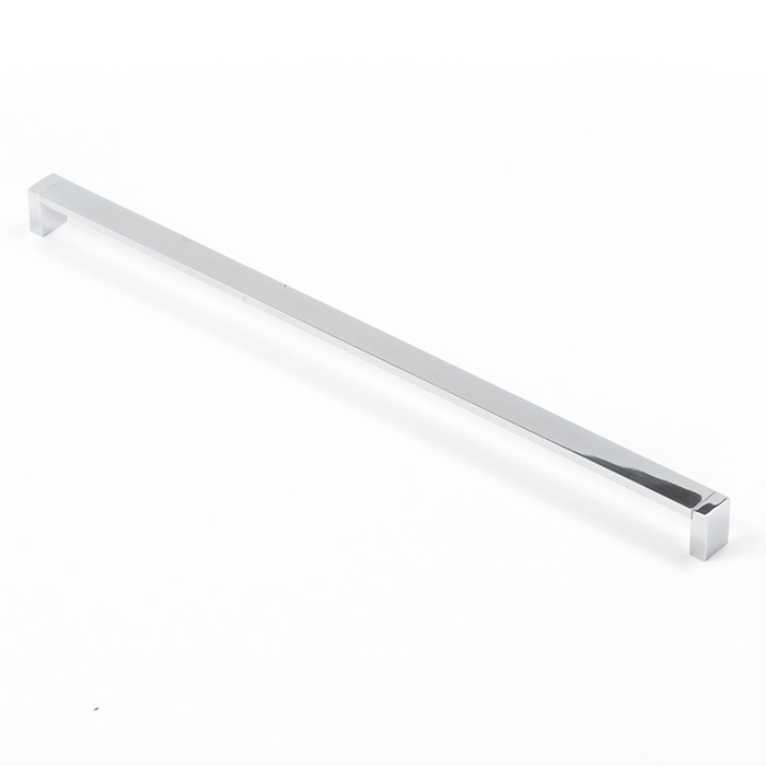 Castella Linear Mezzanine Insert Square Polished Chrome 480mm D Pull Handle