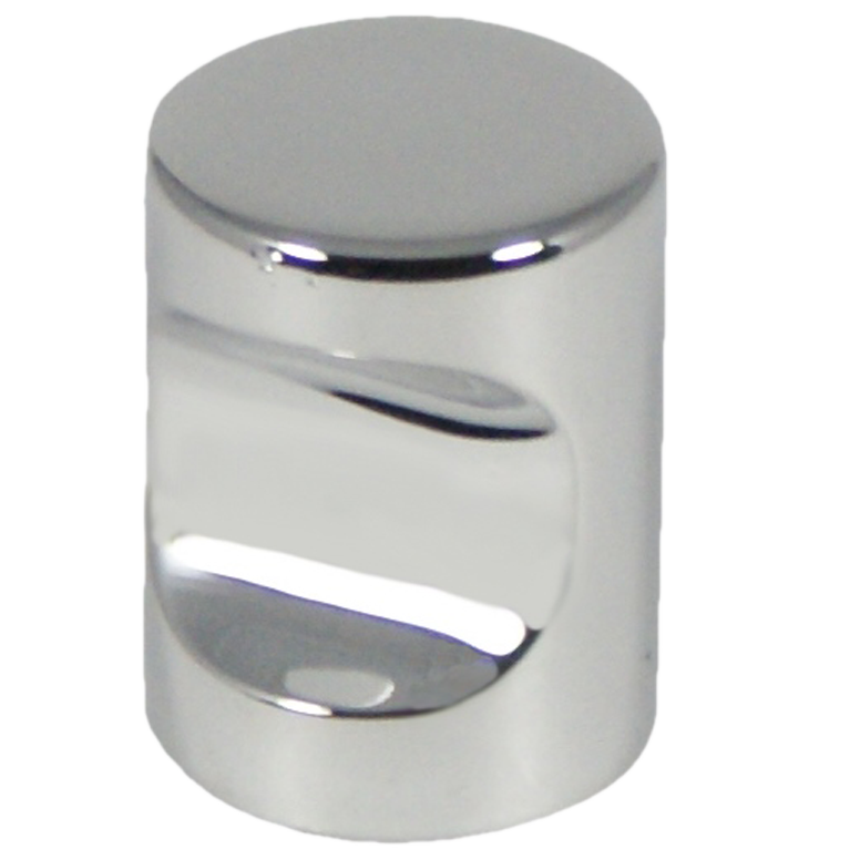 2488 Castella Minimal Micro Polished Chrome Cylinder 20mm Knob