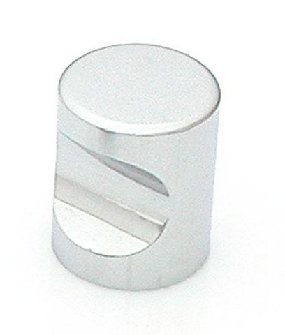 33 Castella Minimal Micro Polished Chrome Cylinder 25mm Knob
