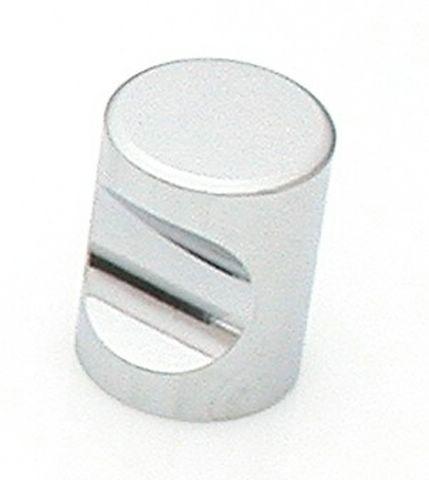 34 Castella Minimal Micro Polished Chrome Cylinder 20mm Knob