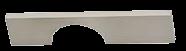 Castella Memphis 96mm Brushed Nickel D Pull Handle