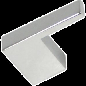 Castella Retro Narrow Flat 35mm Polished Chrome Knob