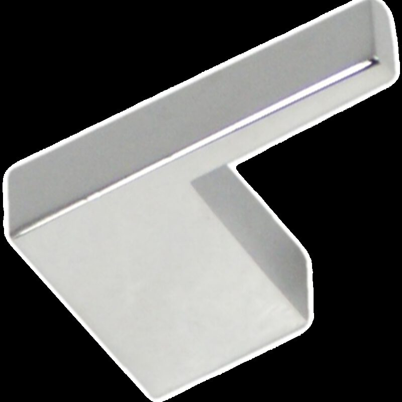 4486 Castella Retro Narrow Flat 35mm Polished Chrome Knob