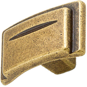 Castella Artisan Chisel 38mm Antique Brass Knob 086 038 03