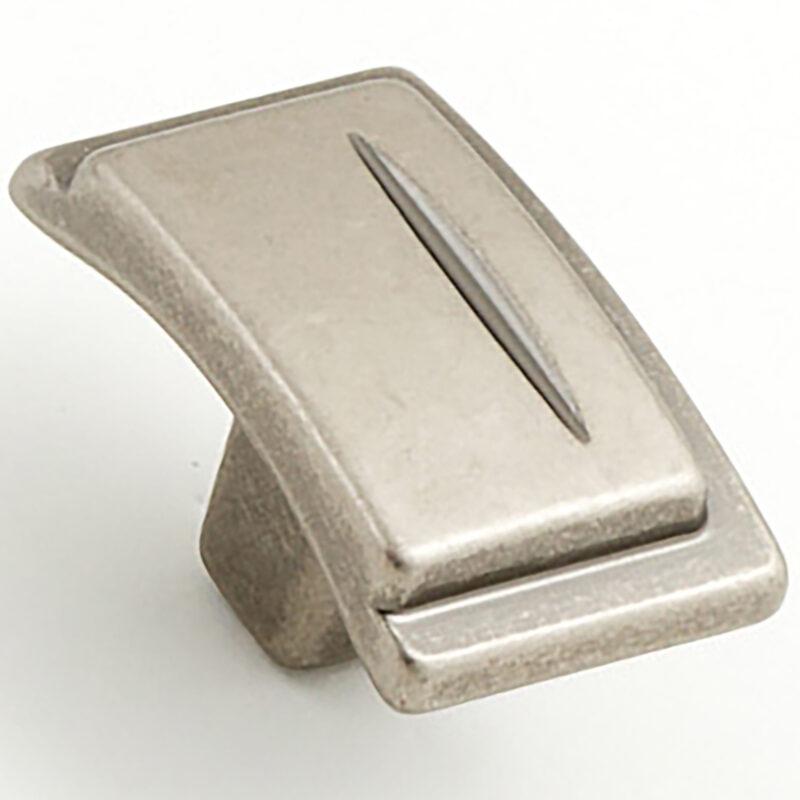 Castella Artisan Chisel 38mm Pewter Knob 086 038 14 2 1