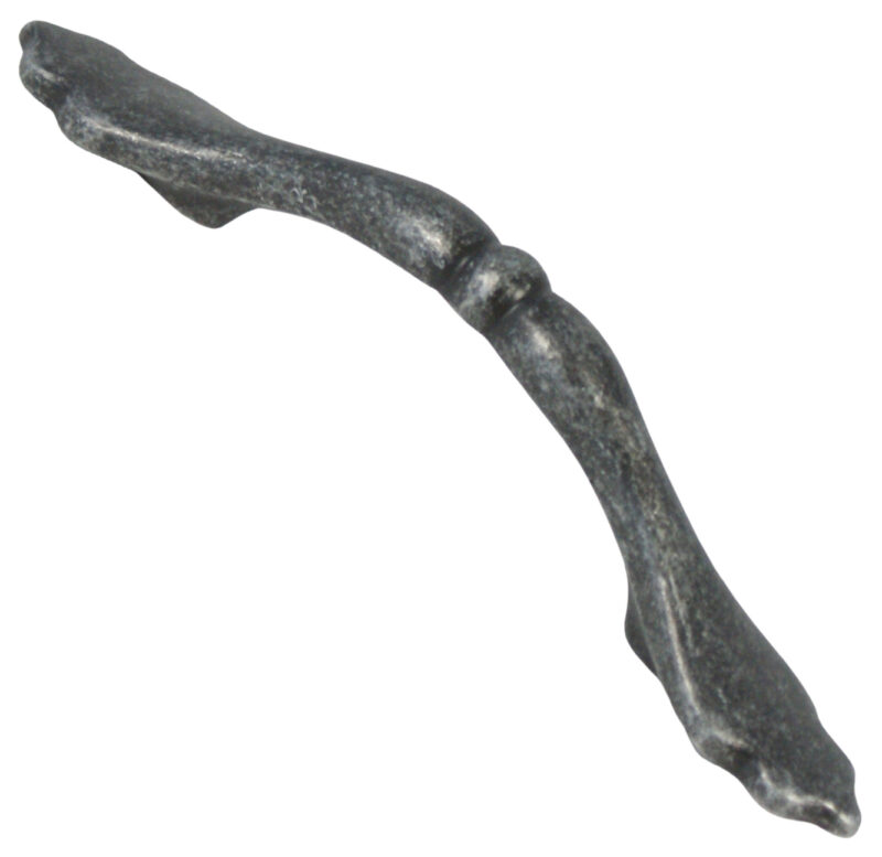 Castella Heritage Shaker Antique Black 76mm Bow Handle 10 076 001 2