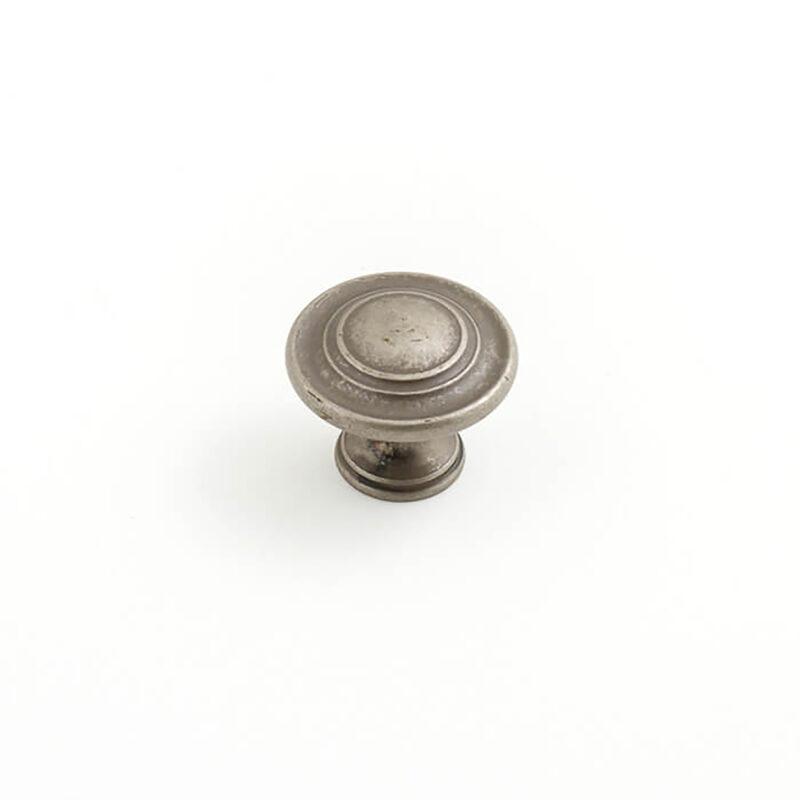Castella Heritage Shaker Pewter 34mm Fluted Knob 56 030 014 1