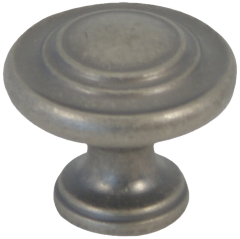Castella Heritage Shaker Pewter 34mm Fluted Knob 56 030 014 2