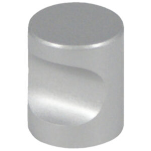 Castella Minimal Micro Aluminium Cylinder 20mm Knob 70 020 11