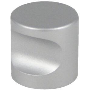 Castella Minimal Micro Aluminium Cylinder 25mm Knob 70 025 11
