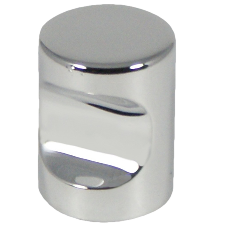 Castella Minimal Micro Polished Chrome Cylinder 20mm Knob 70 020 06