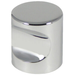 Castella Minimal Micro Polished Chrome Cylinder 25mm Knob 70 025 06