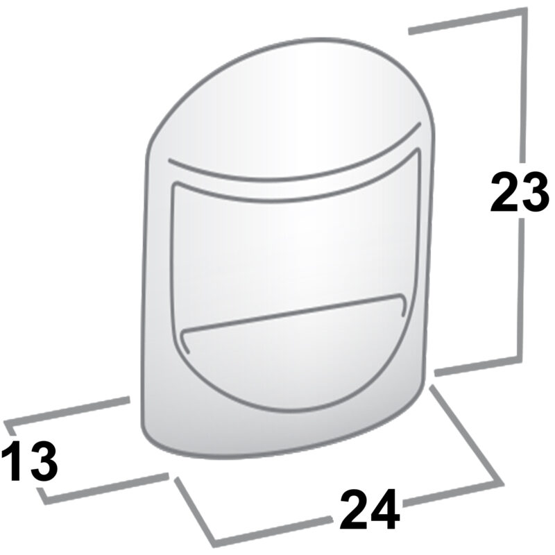 Castella Retro Contour 24mm Flat Polished Chrome Knob Sah 018 024 06 Diagram