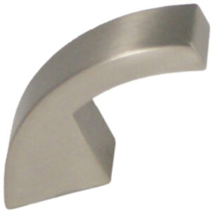 Castella Retro Curve Narrow Curved Knob 16 035 10 35 8 20 Brushed Nickel 1