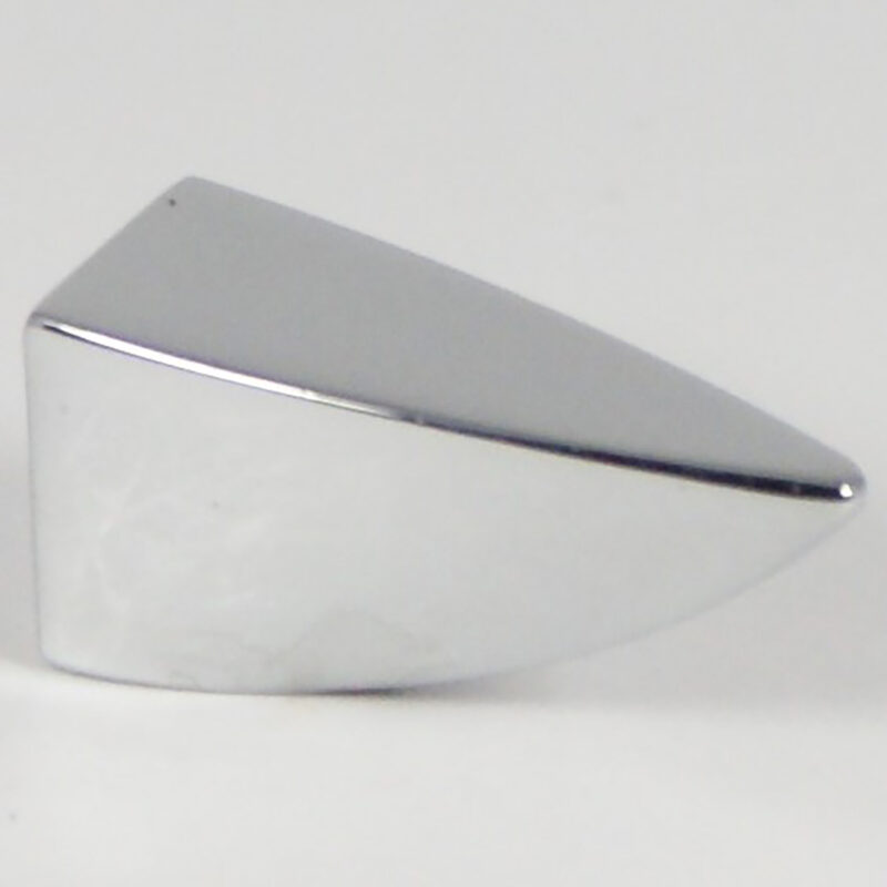 Castella Retro Incisor 35mm Polished Chrome Knob 17 035 06 1 1