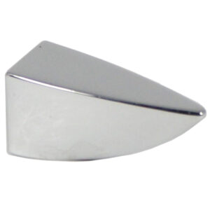 Castella Retro Incisor 35mm Polished Chrome Knob 17 035 06 1