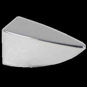 Castella Retro Incisor 35mm Polished Chrome Knob 17 035 06