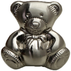 Teddy Bear Brushed Stainless Steel 28mm Knob Byw Mm165 28 Bss