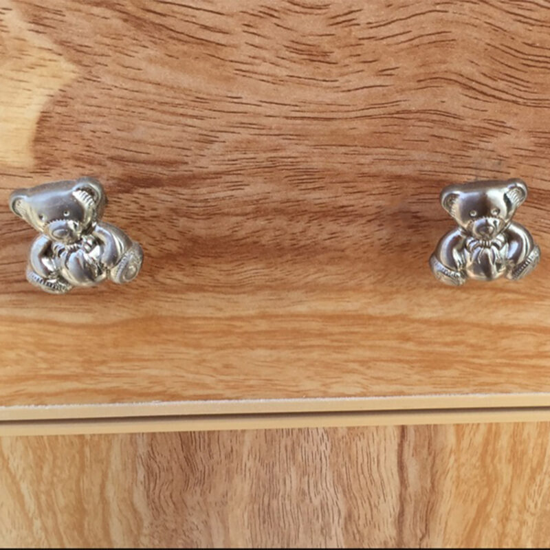 Teddy Bear Brushed Stainless Steel 28mm Knob Byw Mm165 28 Bss Customer1
