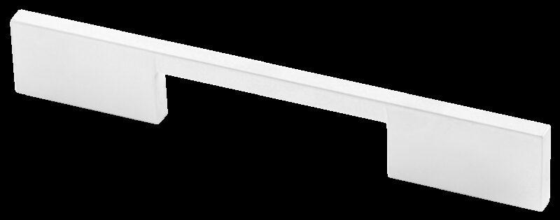 Castella Estamp I-Spazio Series Matt White 128mm Handle