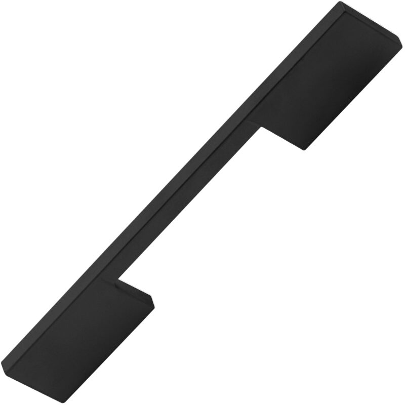 Castella Statement Vogue Matt Black 192mm D Pull Handle 708 192 04 2