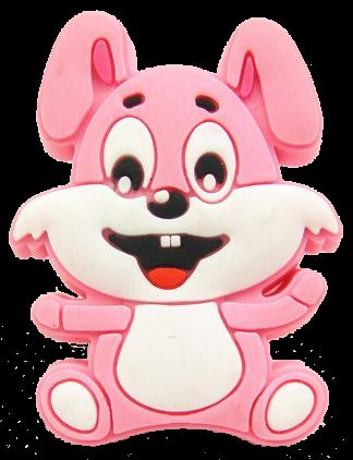 Hot Pink Rabbit 44mm Knob