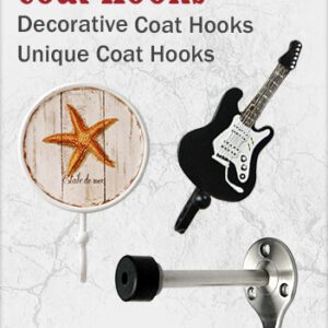 Decorative Coat Hooks and Coat Racks