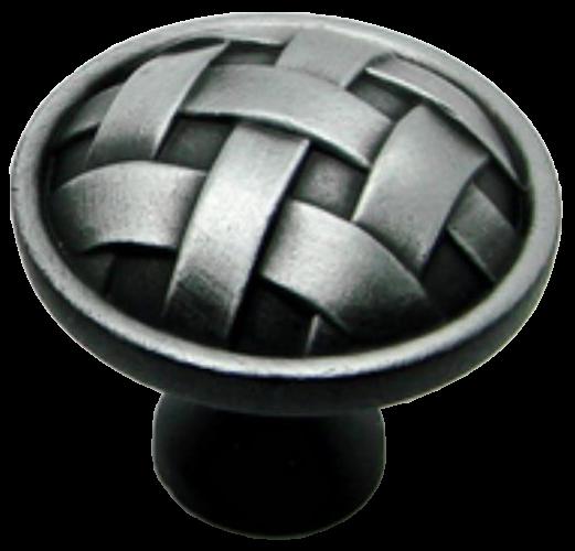 Cordoba Collection Celosia Antique Iron 34mm Round Knob