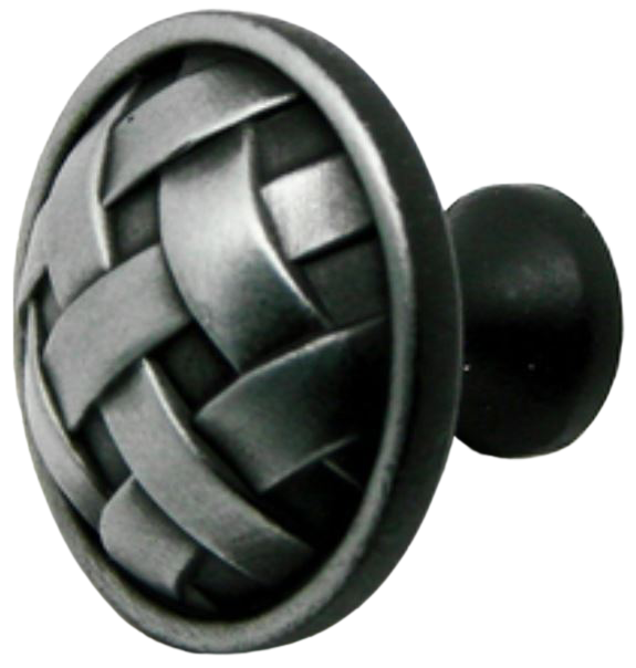 873 Cordoba Collection Celosia Antique Iron 34mm Round Knob