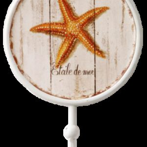 Etoile de Mer Starfish Decorative 170mm Coat Hook