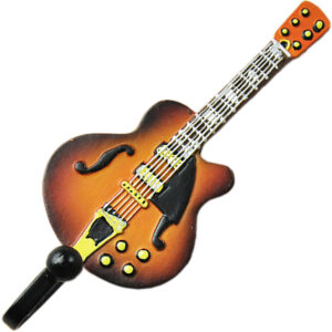 Gibson Les Paul Guitar Shaped Decorative Coat Hook In Vintage Suburst 00