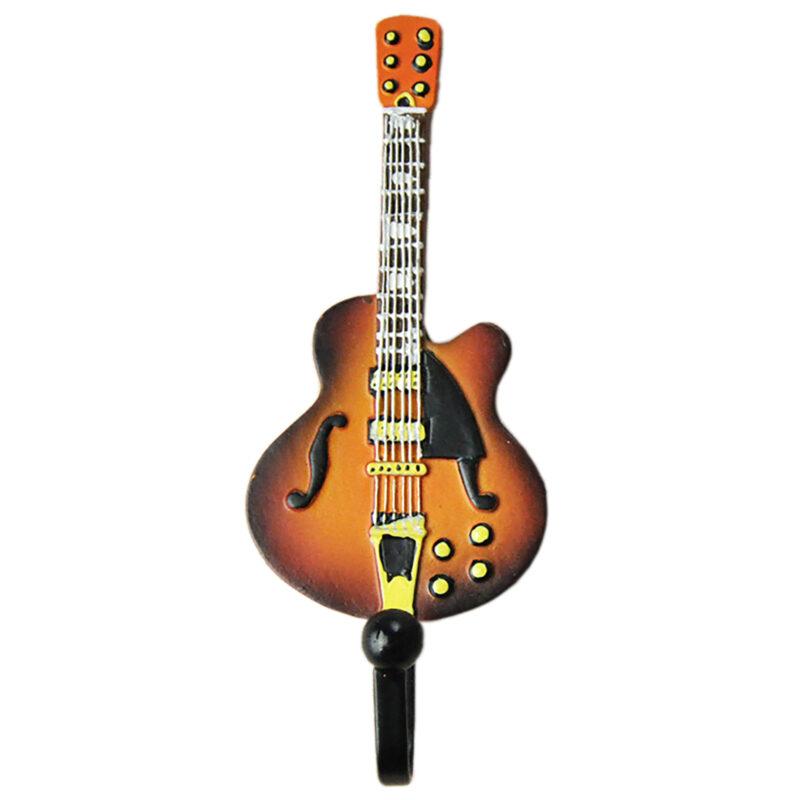 Gibson Les Paul Guitar Shaped Decorative Coat Hook In Vintage Suburst 01