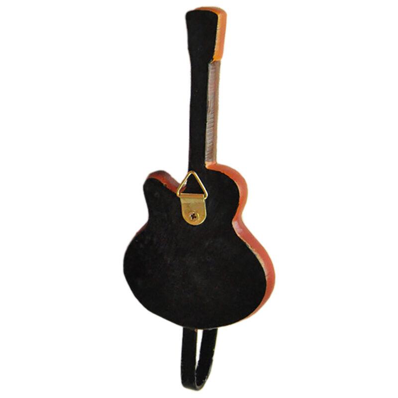 Gibson Les Paul Guitar Shaped Decorative Coat Hook In Vintage Suburst 03 Back