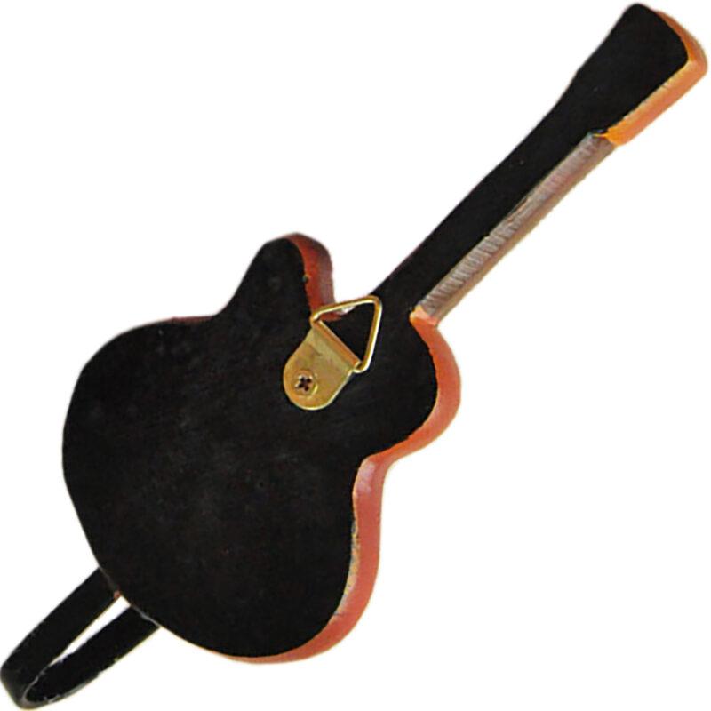 Gibson Les Paul Guitar Shaped Decorative Coat Hook In Vintage Suburst 04 Back