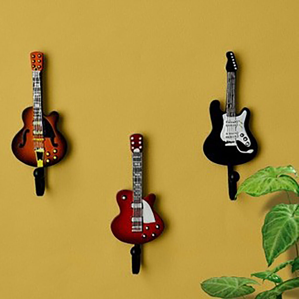 Iron Coat Hooks Fashion Door After Metal Coat Hooks Rustic Clothing Guitar Wall Hook Decorative Wall 1