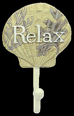 Venera Sea Shell Shape Relax Decorative Coat Hooks