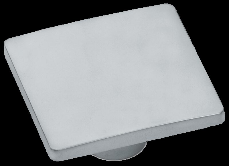 Castella Estamp Wave Satin Chrome 32mm Knob