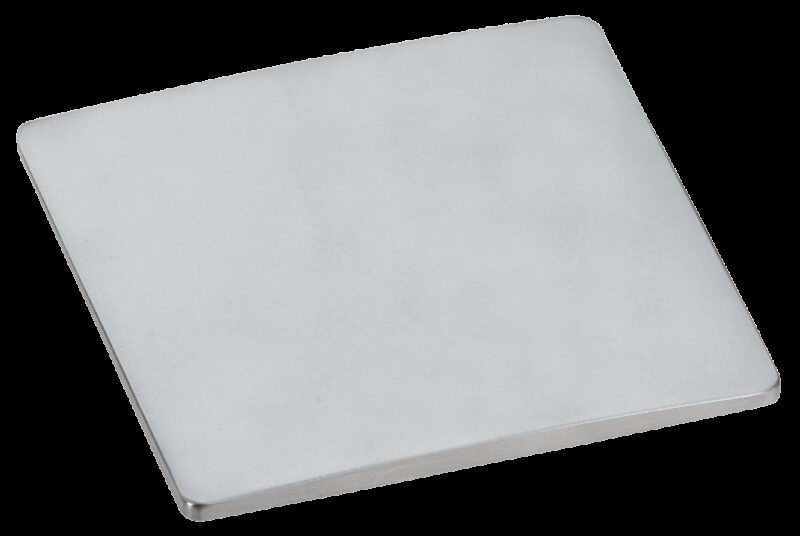 Castella Estamp Wave Satin Chrome 80mm Knob