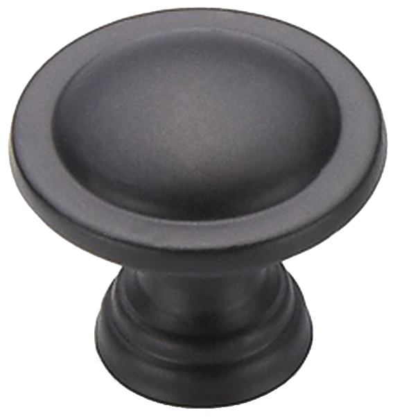 Sencillo Eleganta Large Pure Black 27mm Knob