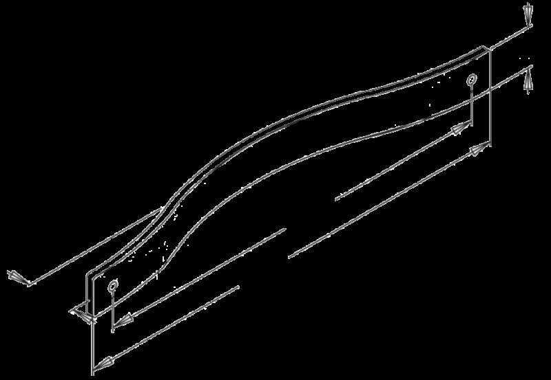 988 Sencillo Eleganta Pure Black 96mm Handle
