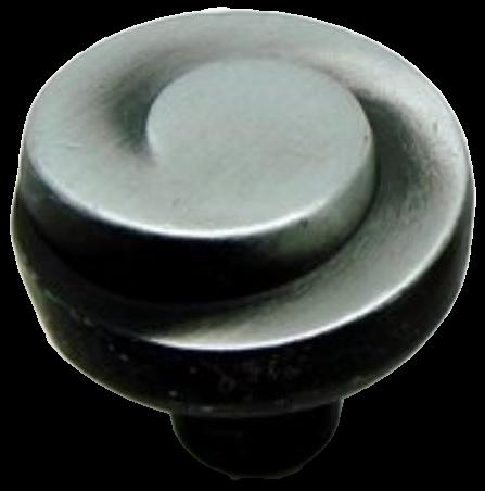 Cordoba Collection Nautilus Spiral Antique Iron 29mm Knob